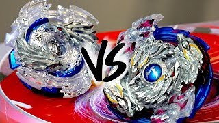 BATTLE: Nightmare Longinus .Ds VS Lost Longinus .N.Sp - Beyblade Burst!