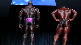Jay Cutler & Ronnie Coleman Mr.Olympia 2005 Prejudging Part 1