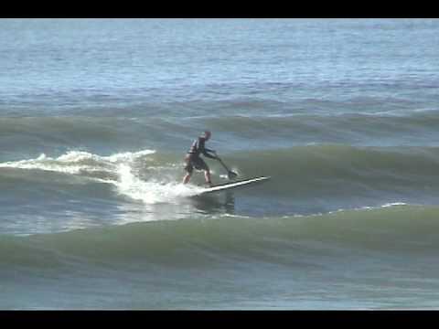SUP and surf Oregon coast September 2009