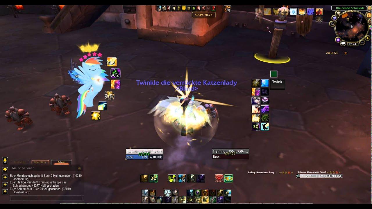 Rainbow Girls Wallpaper My Little Pony Weakauras Cooldown Skin World Of Warcraft