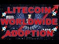 LITECOIN TO $1000 IN 2018? Abra, American Express, Aliant Payment, Litepal, WorldWide Adoption?