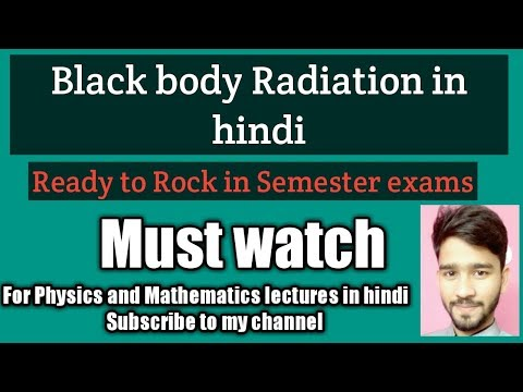 Black Body Radiation-Planck's Quantum Hypothesis, Part-1, in hindi-[Raj Physics Tutorials]