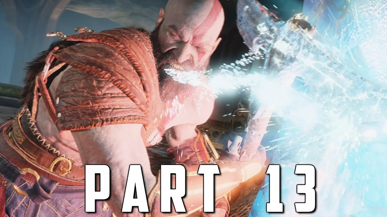 GOD OF WAR Walkthrough Gameplay Part 13 - DARK ELVES (God of War 4)