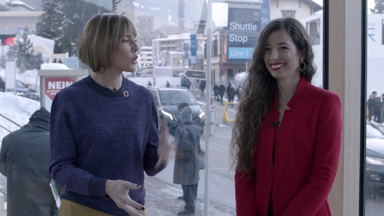 Hub Culture Davos 2020: Victoria Alonsoperez, Founder of CHIPSAFER