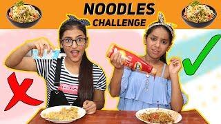 Noodles Challenge   SAMREEN ALI