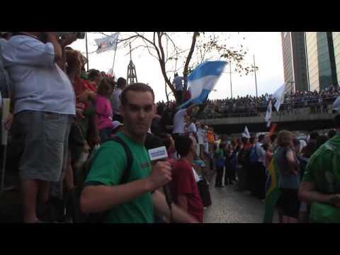 WYD: Rio - Hello Rio! Hello Pope!