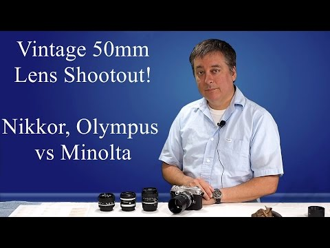 50mm Vintage Lens Shootout for Micro 4/3 ep.15