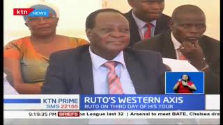 Deputy President Ruto urges Western Kenya to support his 2022 presidential bid