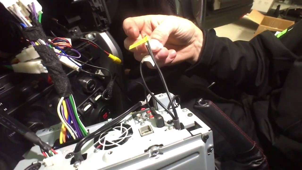 DIY: Install A Stereo In Your Toyota 86 / Subaru BRZ - YouTube