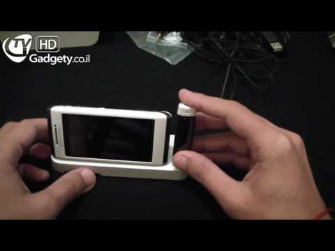 Sony Ericsson Aino פתיחת קופסא