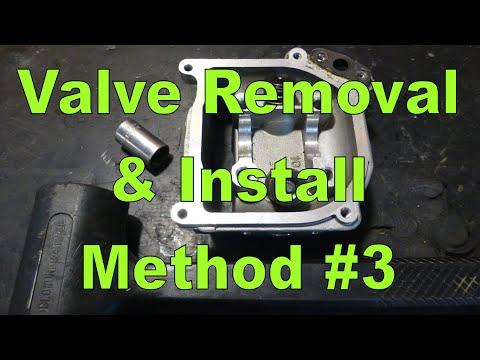 Valve Removal & Installation Method 3 : Hardly Any Tools Required