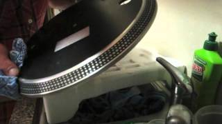 Technics Platter (deep clean)