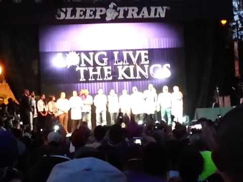 Sac Kings Rally - Kevin Johnson & Vivek Ranadive