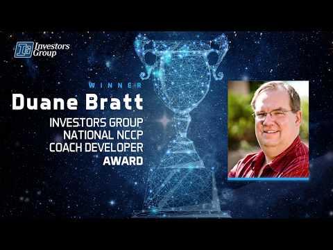 2017 Prix Investors Group National NCCP Coach Developer Award - Duane Bratt