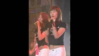 090522 SNSD Taeyeon's Fancam Girls Generation Performance @ Gunsan University