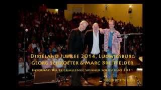 Georg Schroeter & Marc Breitfelder, Summertime, live; 18. Dixieland Jubilee 2014, Ludwigsburg