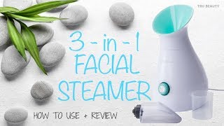 3-in-1 Facial Steamer, Towel Warmer & Humidifier | Nikki Stixx