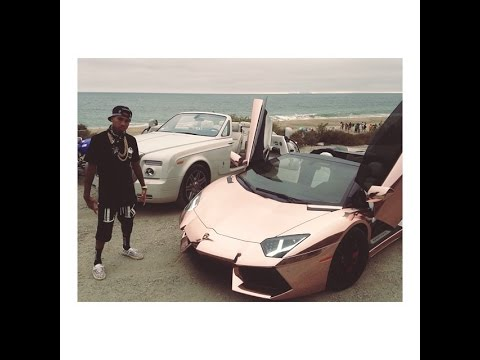 Tyga's Lambo Set To Be Repossessed Just Like His Bentley Was A Few Months Ago Because He Owes $450K