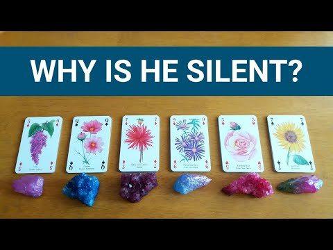 why-is-he-silent?-❤️-*pick-a-card*-no-contact-love-relationship-singles-tarot-reading-timeless