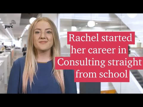 Hear from Rachel about her experience as a School and College leaver in Consulting at PwC