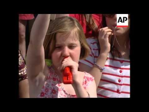 UK: BIRMINGHAM: JUBILEE 2000 GROUP STAGE 3RD WORLD DEBT PROTEST