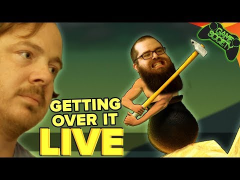 Getting Over It LIVE - Game Society