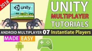Unity Multiplayer Tutorial using Google Play Services (Instantiate Players) [07]