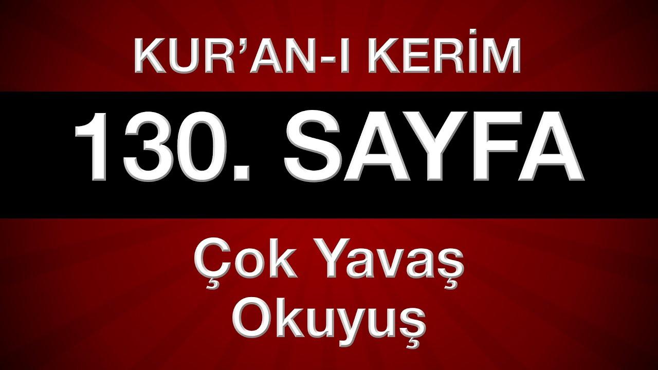 Fatih Çollak - 130.Sayfa - En'âm Suresi (28-35)