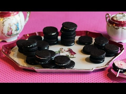 oreo cookies selber machen youtube. Black Bedroom Furniture Sets. Home Design Ideas