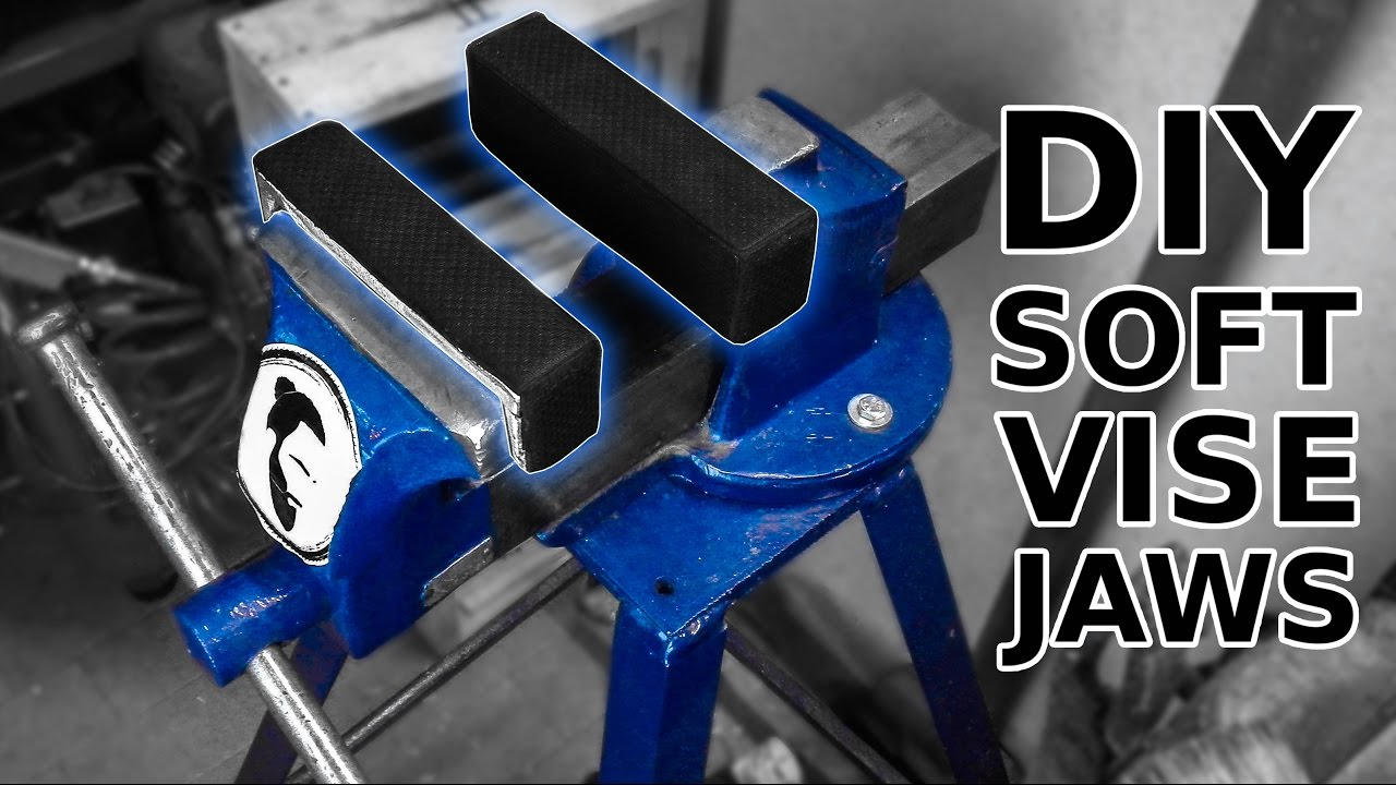 Soft Jaws For Bench Vise Part - 44: DIY Soft Vise Jaws. A Quick Aluminum Casting Project. - YouTube