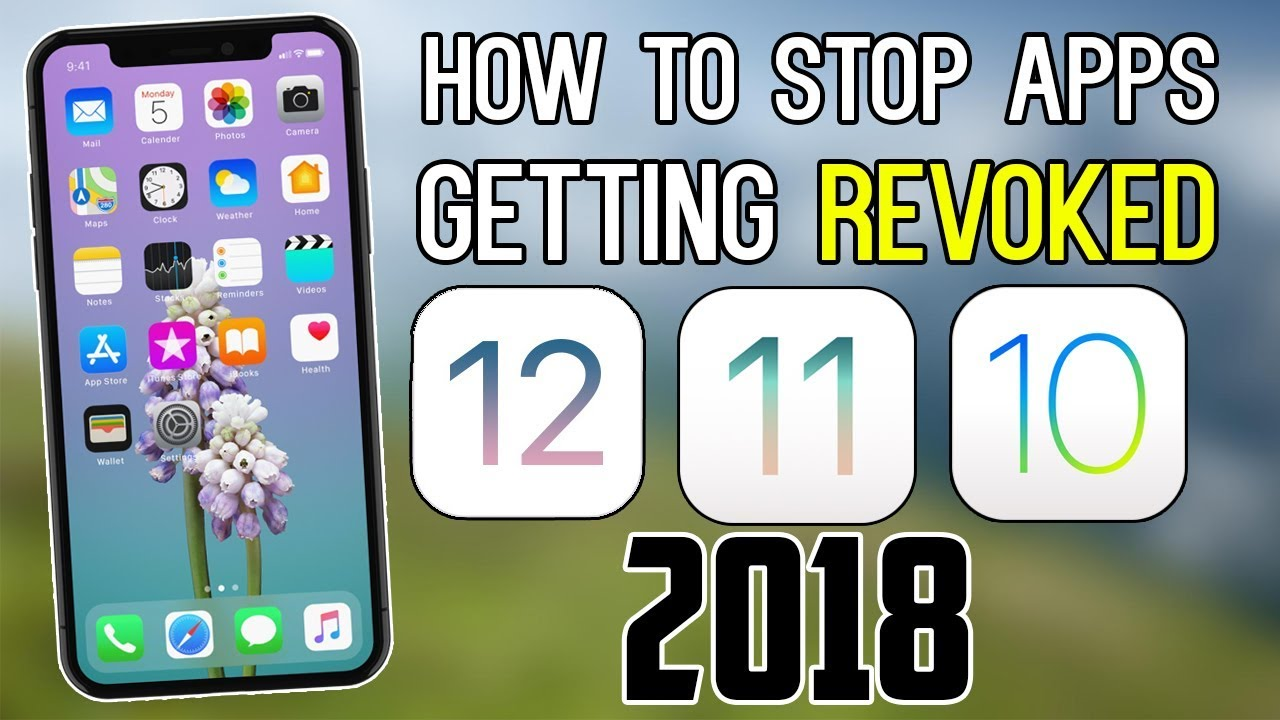 *NEW* STOP Apps Getting REVOKED 2018 - iOS 12 - 12 1 / 11 / 10 ( iPhone,  iPad, iPod) by TechArt