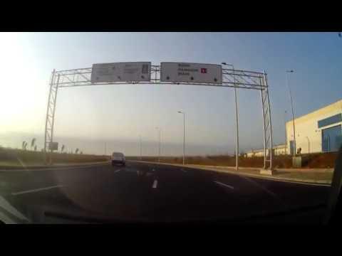 autoroute diamniadio  vers aibd