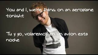 "Ed Sheeren ""Barcelona"" lyrics+español"