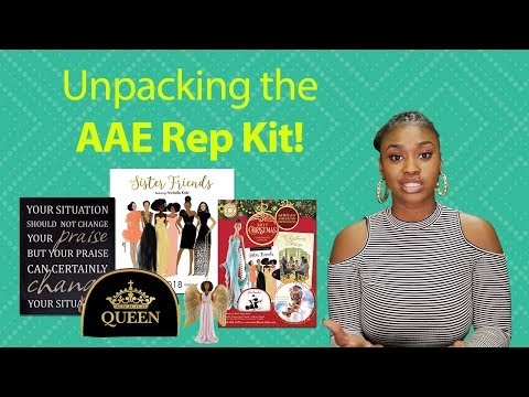 Black Fundraising - African American Expressions - Unpacking The AAE RepKit