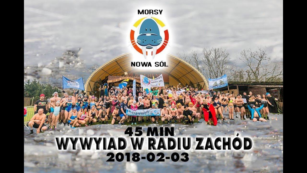 Wywiad z Nowosolskimi Morsami w Radio Zachód 2018-02-03