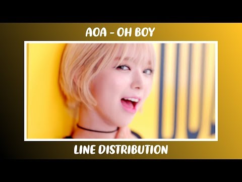 「 AOA • Oh Boy | Line Distribution 」