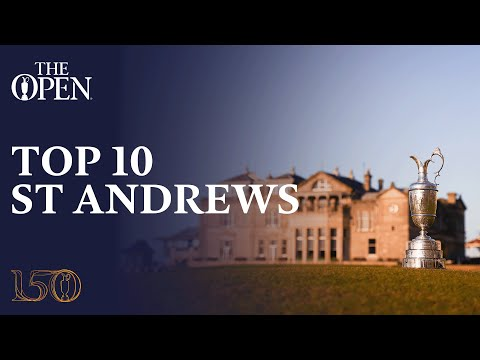 Top 10 Moments from The Open Championship at St Andrews