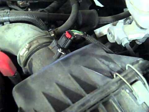 P0102 diagnostic code fix - Service Engine light on