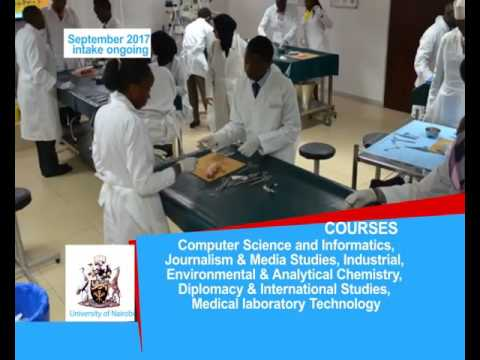 University of Nairobi September 2017 Intake