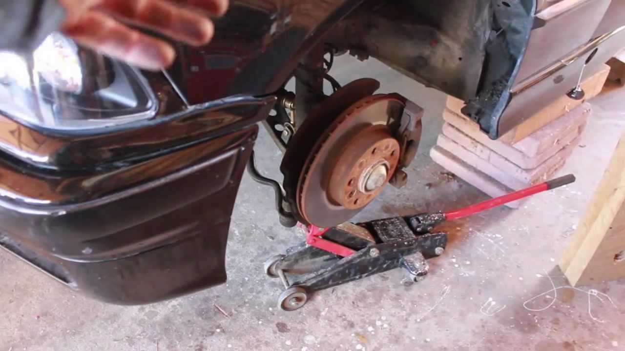 small resolution of bmw e36 diy removing the front strut and spring assembly on my 1998 328is youtube