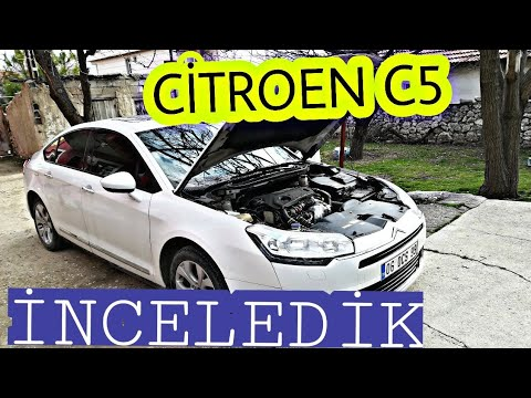 Citroen C5 1.6 E HDİ MCP İNCELEME//DETAYLI(UÇAN HALI)