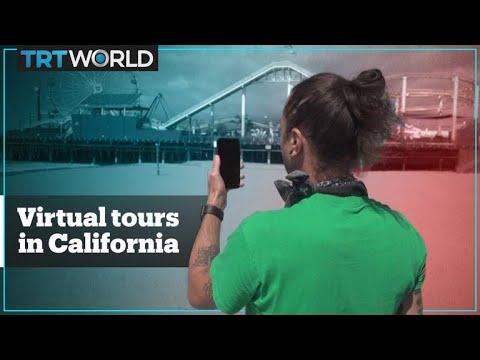Virtual tours in California amid coronavirus lockdown
