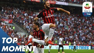 Higuaín Scores First San Siro Goal! | AC Milan 2-2 Atalanta | Top Moment | Serie A