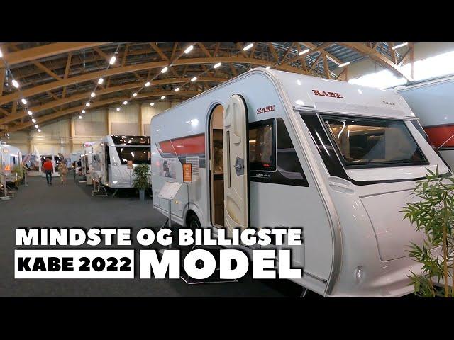 Mindste og billigste Kabe campingvogn 2022 model