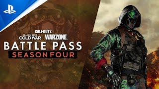 Call of Duty: Black Ops Cold War & Warzone - Season Four Battle Pass Trailer | PS5, PS4