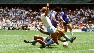 Diego Maradona   Goal of the Century   HD