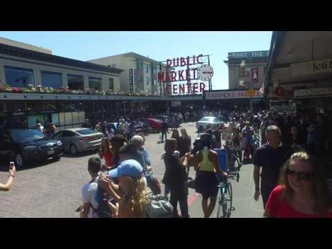 Pike Place Market, Seattle.