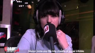 Marion teste une fille très chaude et super infidèle - C'Cauet sur NRJ