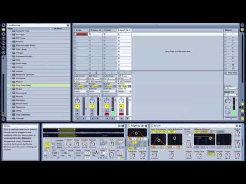 Ableton Live Tutorial - Sampling & Creating Synths From Field Recordings