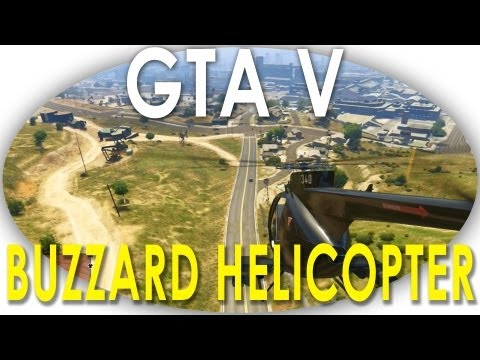 GTA V - Buzzard Helicopter Location Guide EASY TO STEAL (GTA 5) Powered By @ElgatoGaming